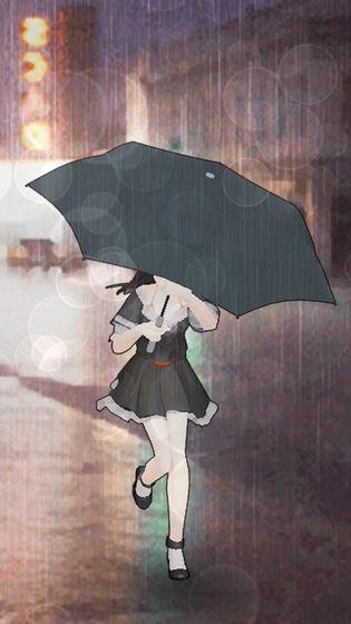 下雨了截图