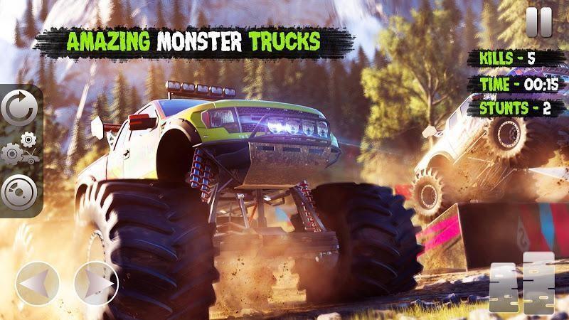怪物卡车粉碎与撞击截图