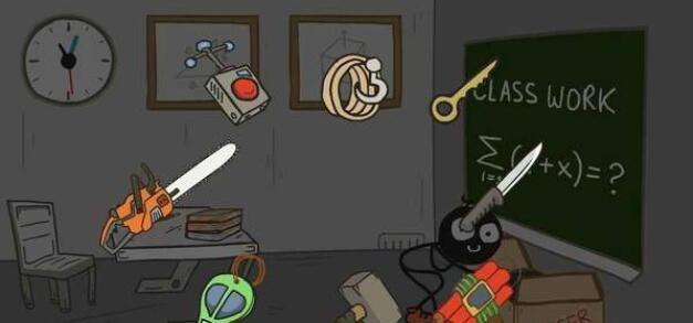 恐怖火柴人教室截图