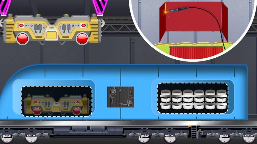 火车建造与工艺截图