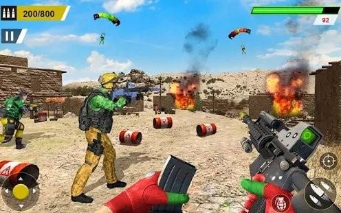 反恐射击游戏枪手截图