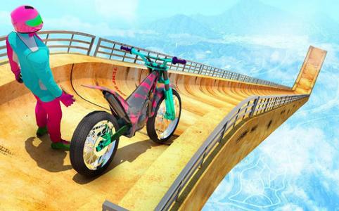 自行车特技2020截图