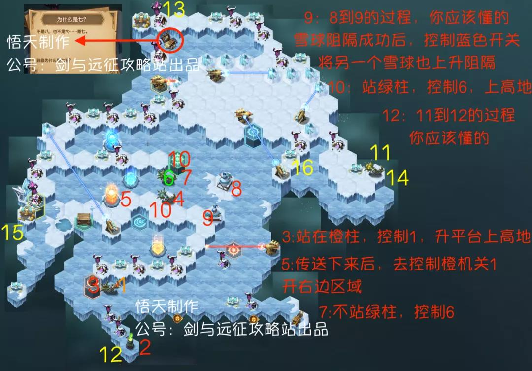 剑与远征霜息冰原攻略大全 路线、隐藏宝箱及BOSS打法指南