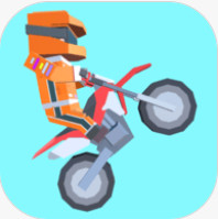 像素摩托车大赛