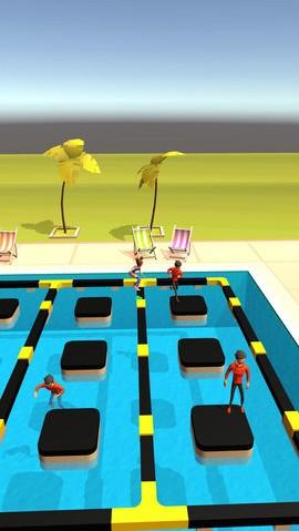 泳池大碰撞游戏截图