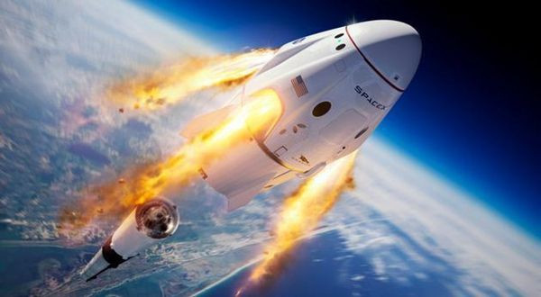 spaceX模拟器截图