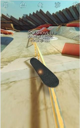 真实的滑板截图