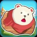 大熊吃水果