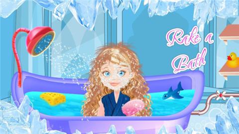 冰公主温泉化妆截图
