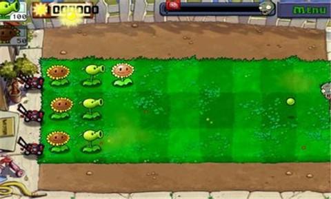 植物大战僵尸带迷你游戏截图
