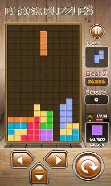 方块拼图游戏截图