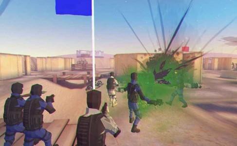 模拟枪战游戏截图