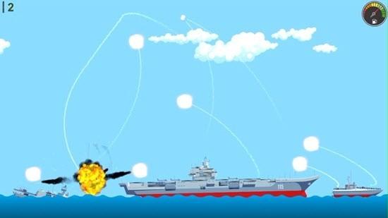 导弹与军舰截图