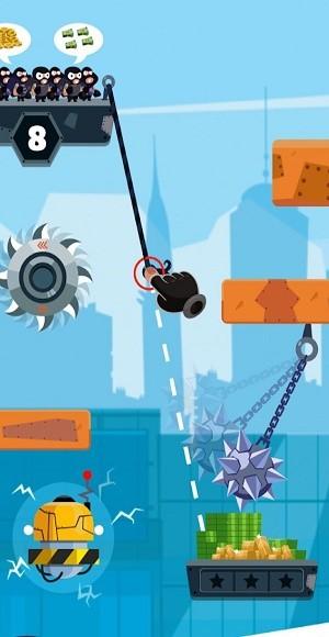 强盗飞行游戏截图