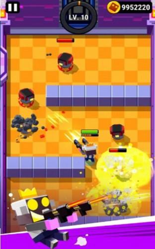 机器人炸弹射击游戏截图