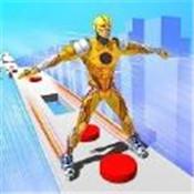 超级英雄滑冰