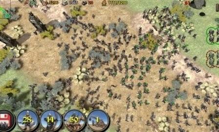 帝国之影RTS截图