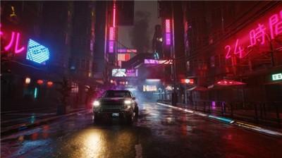 赛博朋克2077夜之城截图