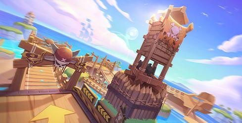 跑跑卡丁车手游海盗峭壁瞭望塔怎么跑 海盗峭壁瞭望塔技巧分享