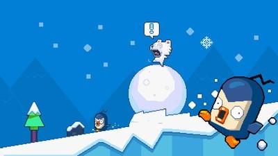 笨熊滚雪球截图