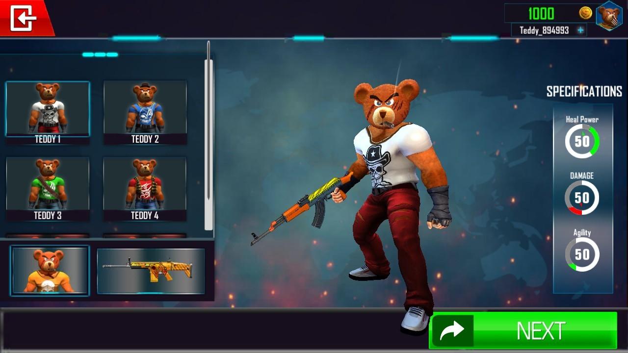 泰迪熊枪战截图