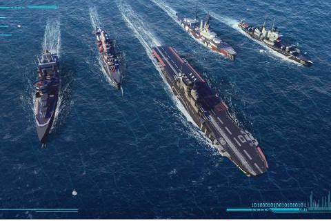 海岸线战舰养成计划游戏截图