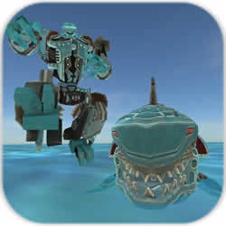 鲨鱼机器人游戏