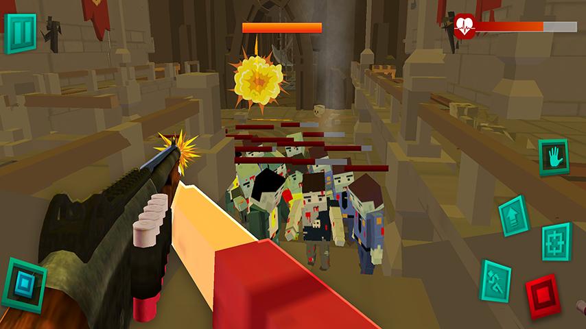 僵尸像素战士3D截图