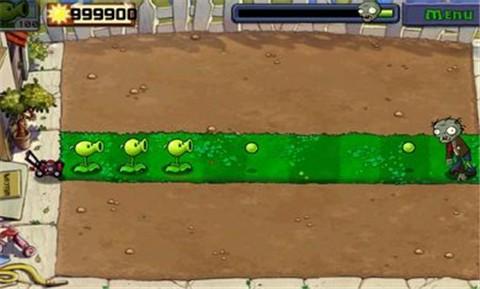 植物大战僵尸1带有其他模式的版本截图