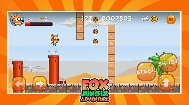 经典狐狸丛林冒险截图