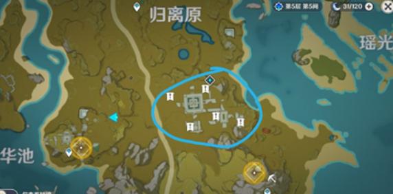 原神宝藏归离任务圆盘位置及激活方法介绍