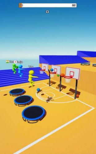 飞天大灌篮3D游戏截图