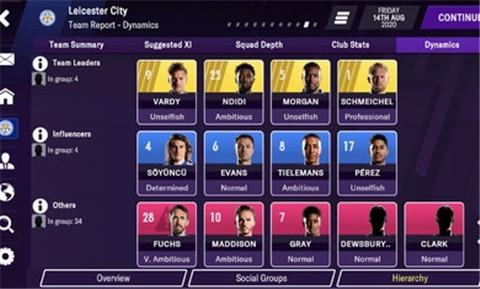 fm2021足球经理手机完美汉化版截图