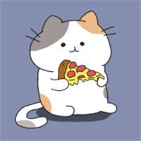 太空猫我想吃披萨