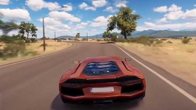 兰博基尼赛车游戏截图