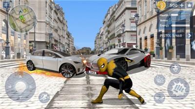 蜘蛛英雄开放之城截图