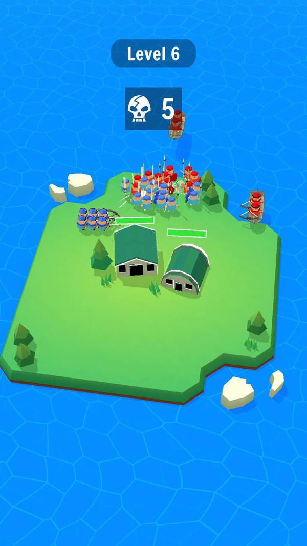 岛屿保卫战截图