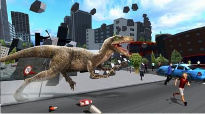 恐龙毁灭城市截图