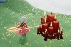 光遇6.17大蜡烛位置分布一览