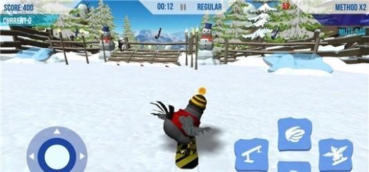 雪鸟滑雪板截图