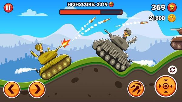 山丘坦克战中文版截图