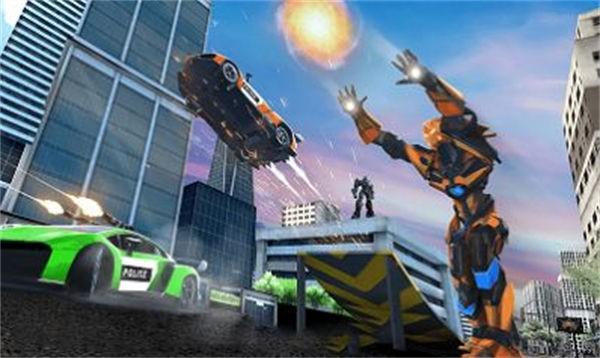 机器人刺激战场截图