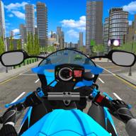 痴迷摩托车比赛