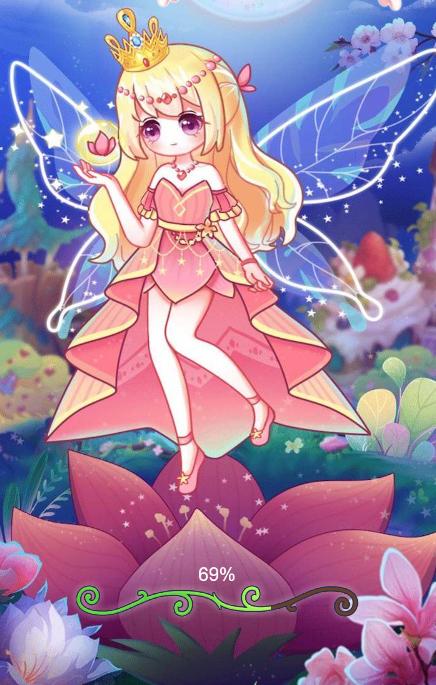 花仙子天使公主换装截图